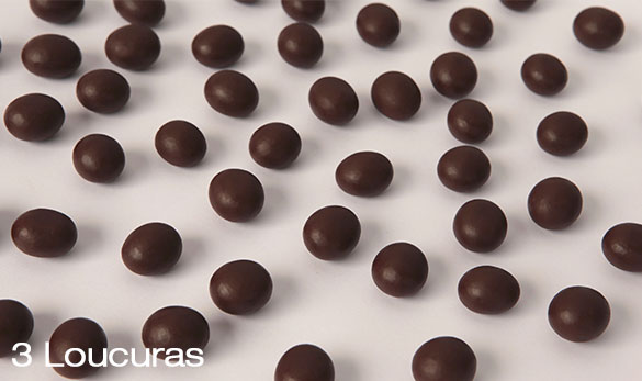 Roasted coffee beans  covered with 55% chocolate - 150g